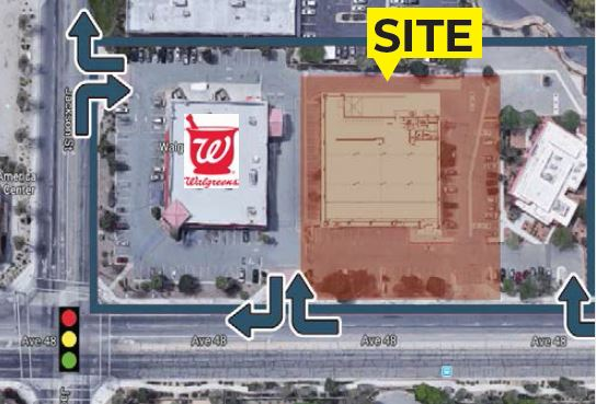 13,969 SF Freestanding Retail Building, Indio