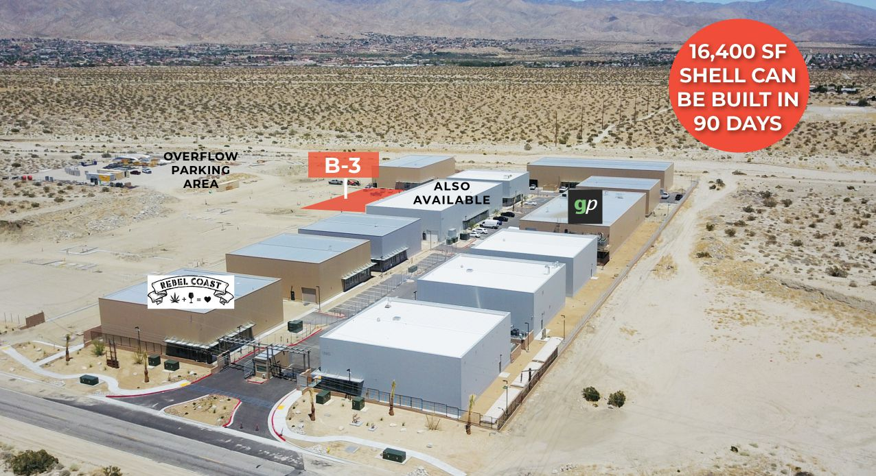another angle of map showing the building location of 15878 little morongo road desert hot springs california