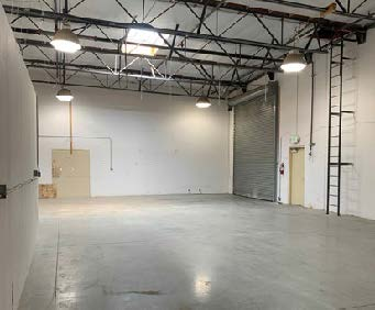 3,500 SF Industrial Building For Lease