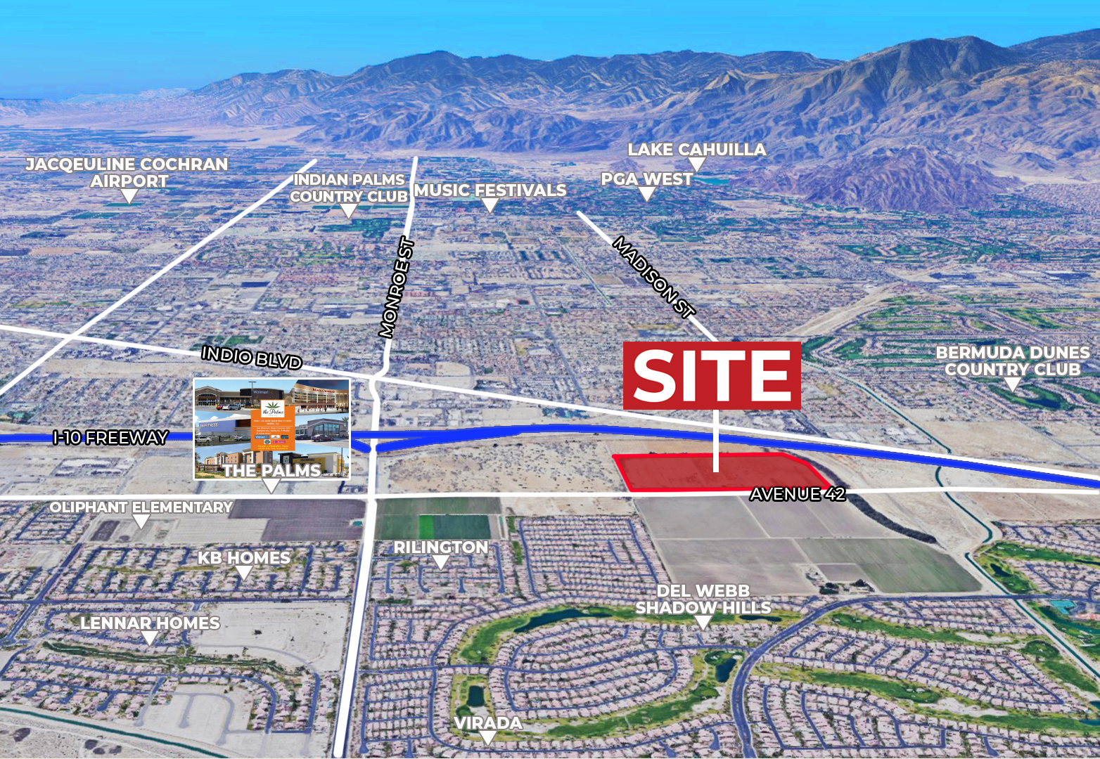 61 AC Ave 42 & I-10, IN Featured Web