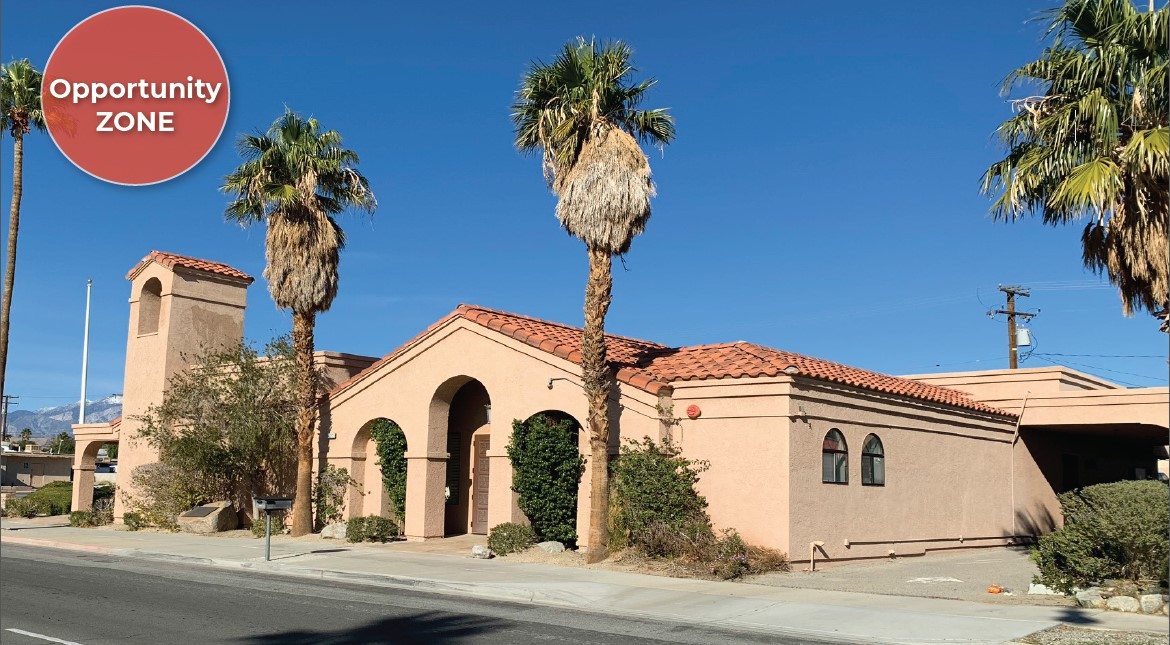 building photo of 5500 squarefoot building on 0.75 acres lot in 66272 pierson boulevard desert hot springs california