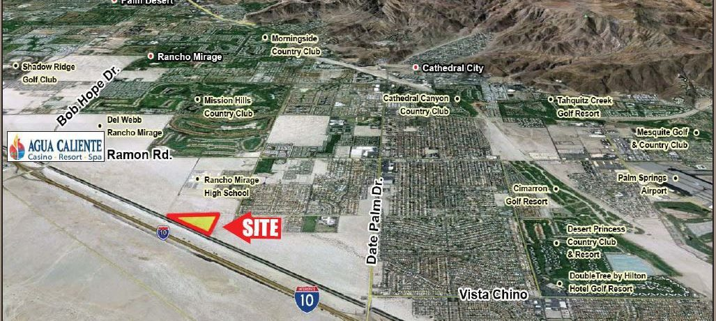 aerial map in 37.69 acres property for lease in avenue 30 riverside county california
