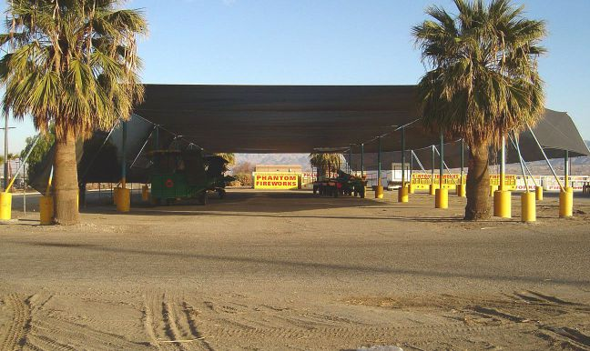 another photo of 10 acres warehouse in cannabis overlay in 53800 polk street desert hot springs california