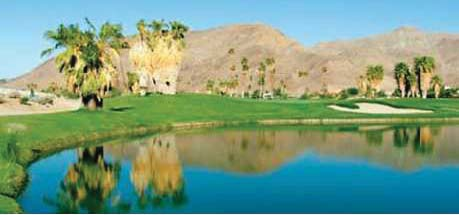 a photo of a lake view in 0.40 acres land in ramon road and monterey avenue in thousand palms california