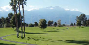 a photo of a mountain view in 0.40 acres land in ramon road and monterey avenue in thousand palms california