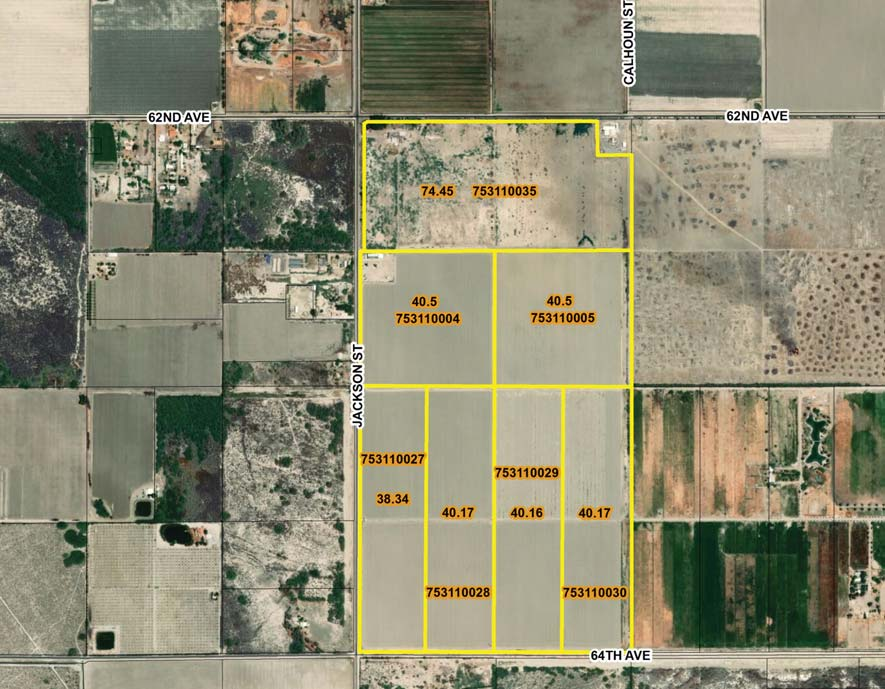 194.95 AC Farmground For Lease