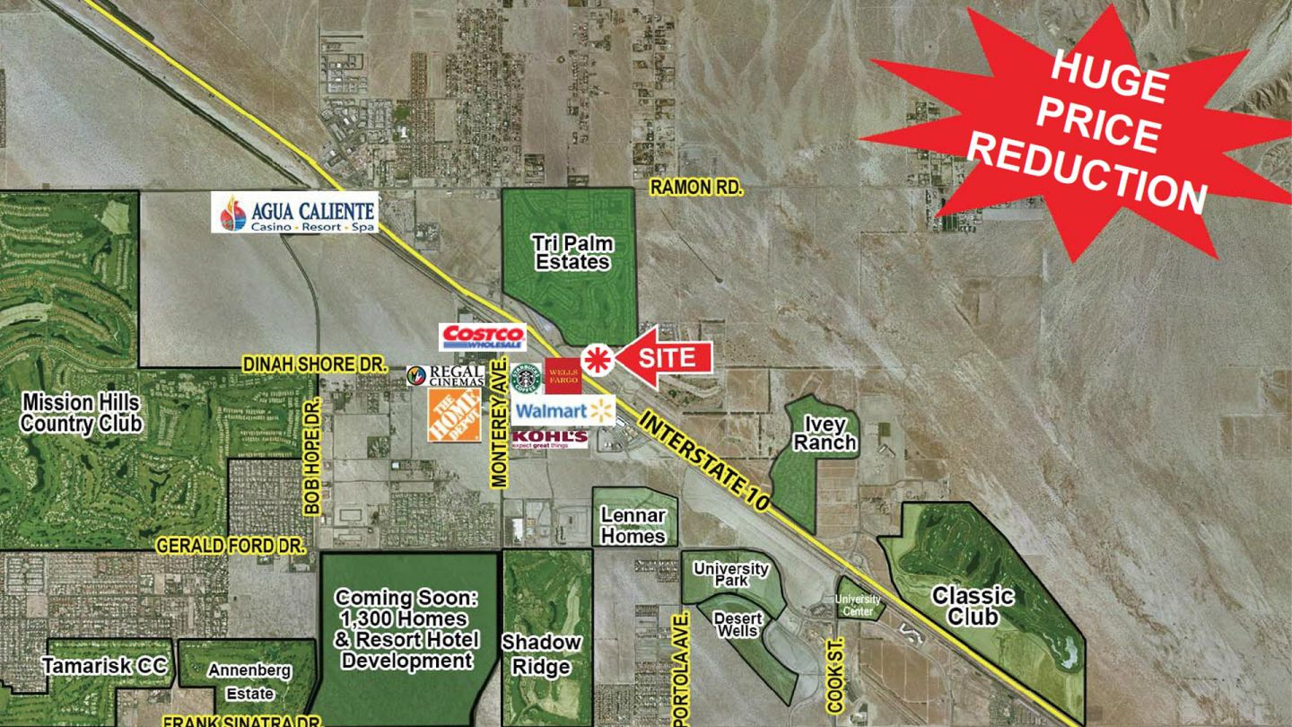 5.92 Acres Adjacent to Shenandoah Springs, Thousand Palms