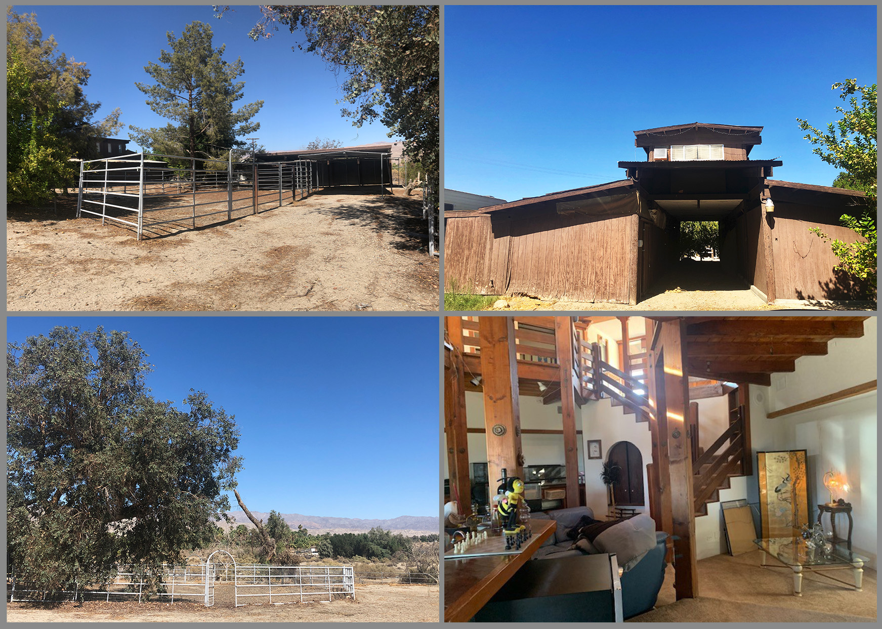 photo collage of ranch for sale at 79300 avenue 39 indio california