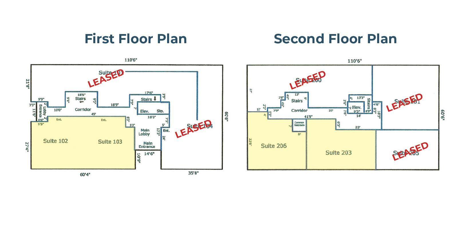 floor plan of medical offices for lease at 1080 north indian canyon palm springs ca