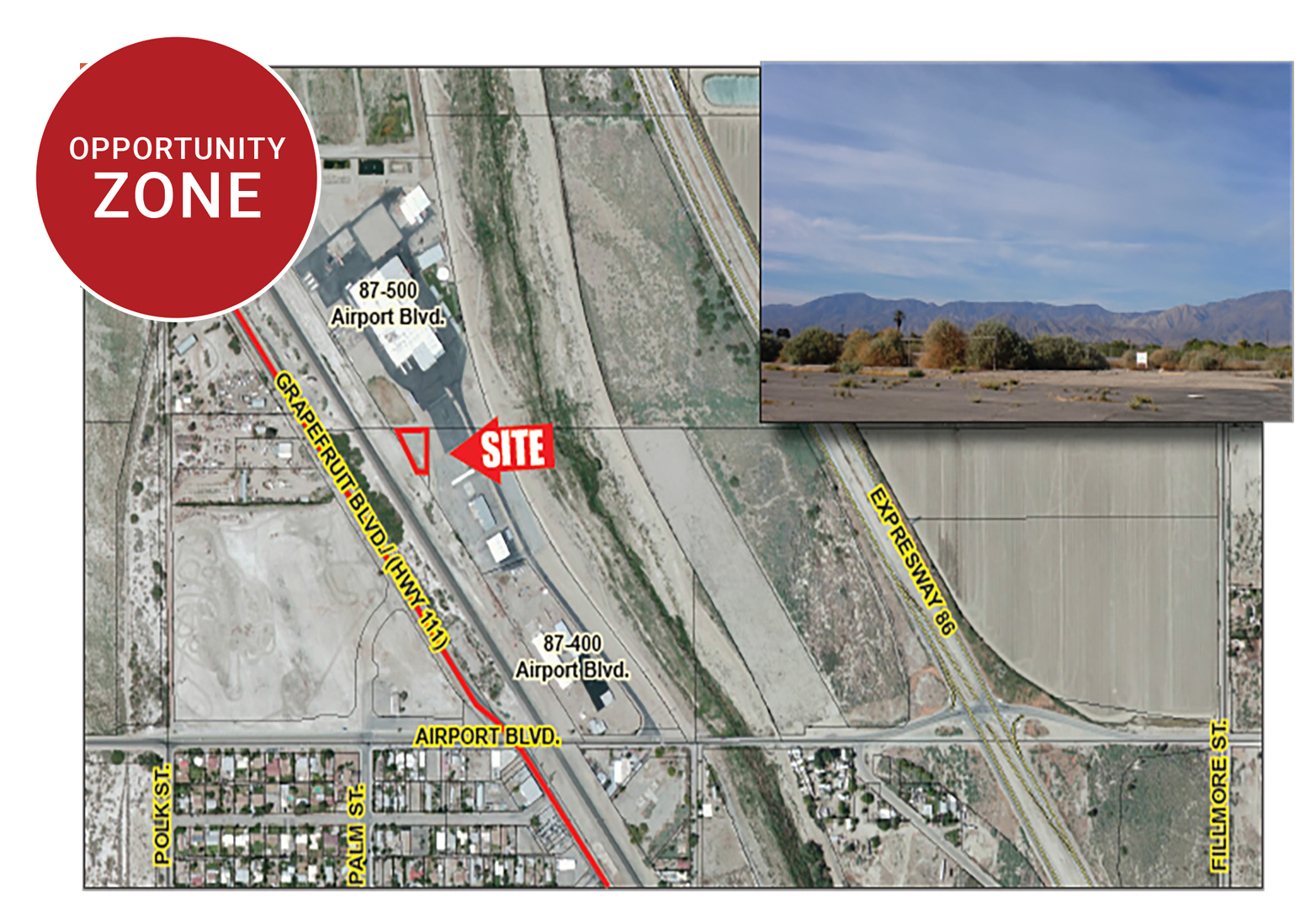 0.47 AC North Airport Blvd, Thermal Featured Web