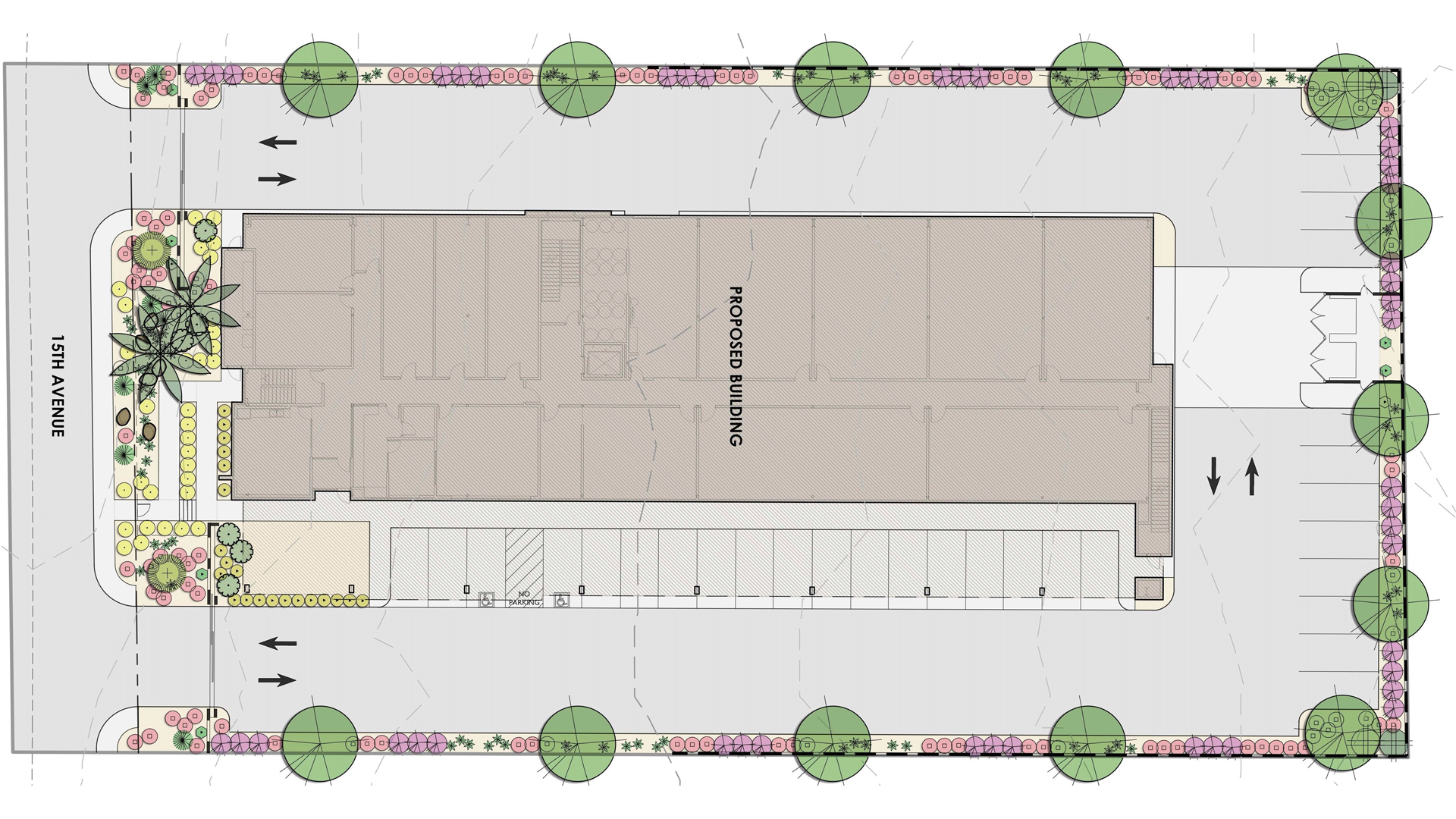 1.26 AC 15th Ave, Redshield Intl -PT Site Plan Map